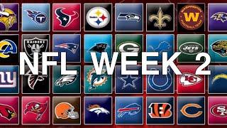 NFL Week 2 Predictions 2020 | 2021