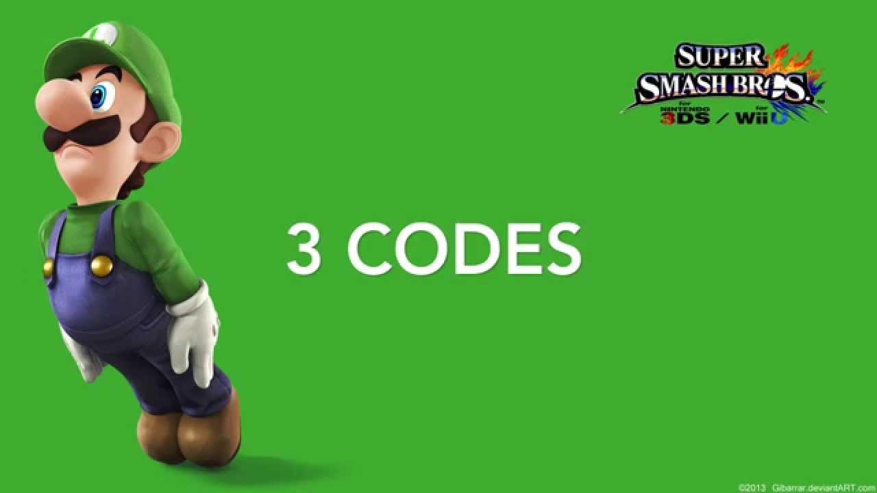 Code smash bros generator 3ds Free Smash