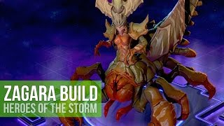 Heroes Of The Storm Team Fighter Zagara Talent Build Gameplay Youtube Encounter her brood and beware: youtube