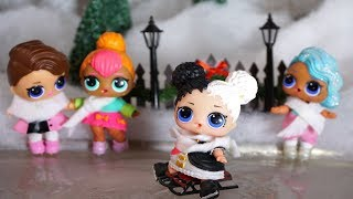 LOL SURPRISE DOLLS Go Ice Skating With POSH!