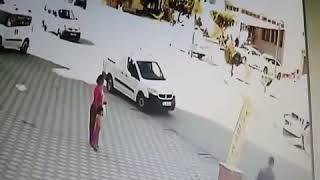 Mersin Erdemli'de Feci Kaza Kameralara Yansıdı