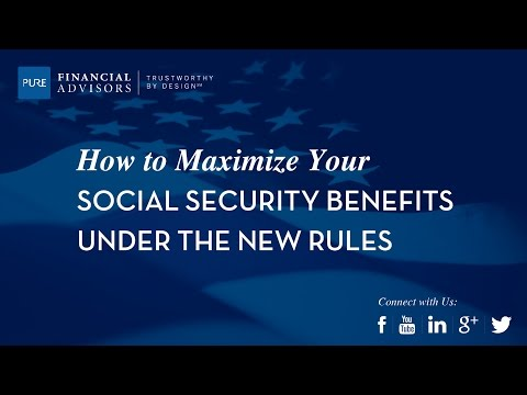 [Webinar] Maximizing Your Social Security Benefits Under New