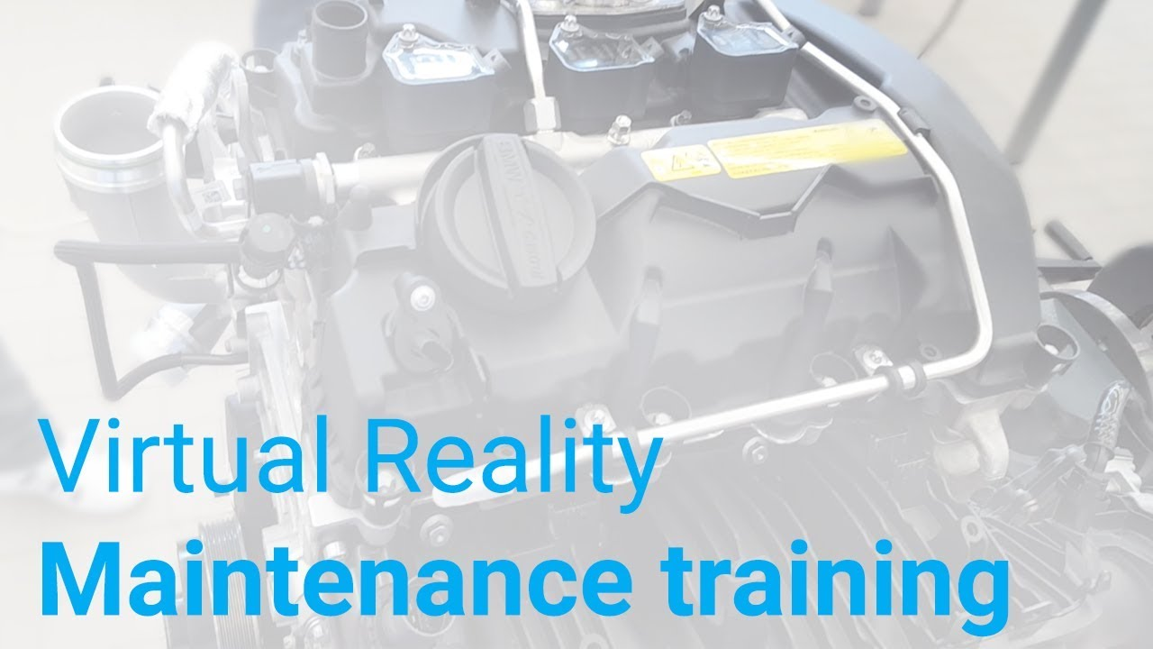 Maintenance training module | Virtual Reality Services