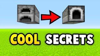 Minecraft 6 INSANE SECRET THINGS YOU CAN MAKE (Ps3/Xbox360/PS4/XboxOne/WiiU)