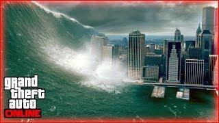 TSUNAMI EN LOS SANTOS ¿? - Misterios GTA 5 Online - Curiosidades GTA 5 - Tsunami en GTA V Online