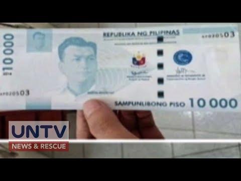 BSP, nagbabala sa umano'y lumabas na P10,000 bill
