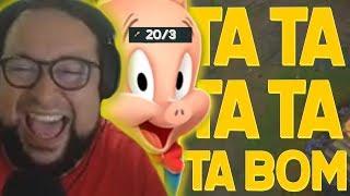 GORDOX E O GAGUINHO DO LOL KKK