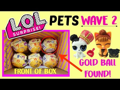 LOL Surprise Pets Series 3 WAVE 2 Hack How to Find Gold Ball without Flashlight