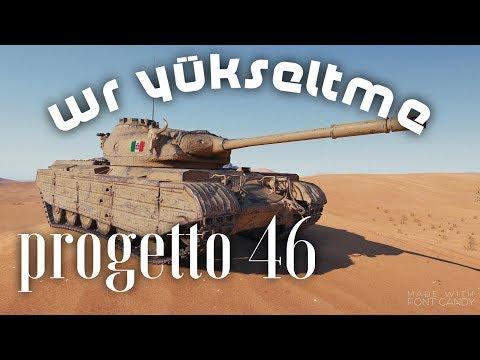 WOT Blitz - Progetto 46 - 1vs4 - #evdekal ve WR yükselt