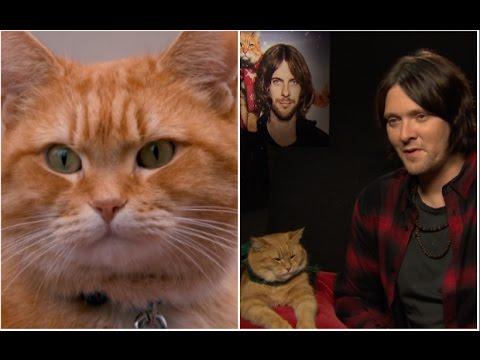 """Bob gave me the drive to change my life"" James Bowen on A Street Cat Named Bob"