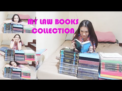 LAW SCHOOL || My Law Books Collection