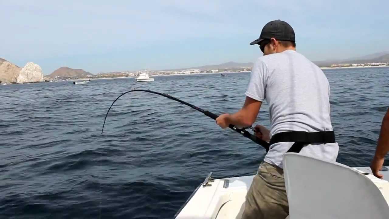 Deep sea fishing in cabo san lucas mexico jordan youtube for Deep sea fishing san francisco