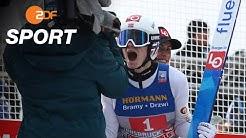 Lindvik gewinnt, Geiger glücklos am Bergisel - Vierschanzentournee | SPORTextra - ZDF