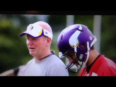 Christian Ponder Bill Musgrave Vikings History In Oakland