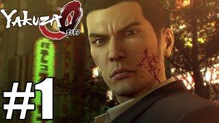 Yakuza Zero Gameplay Walkthrough Part 1 - PS4 Pro