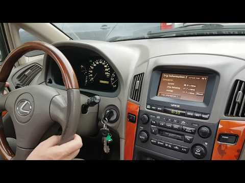 Тест драйв Lexus RX300 2001 г 271000км