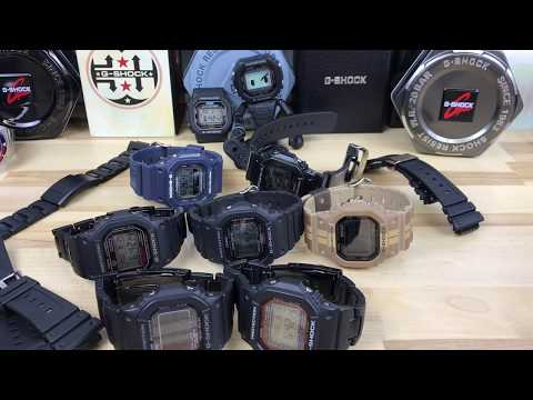 Gshock square collection (5600, 5610, 5000, 5030)