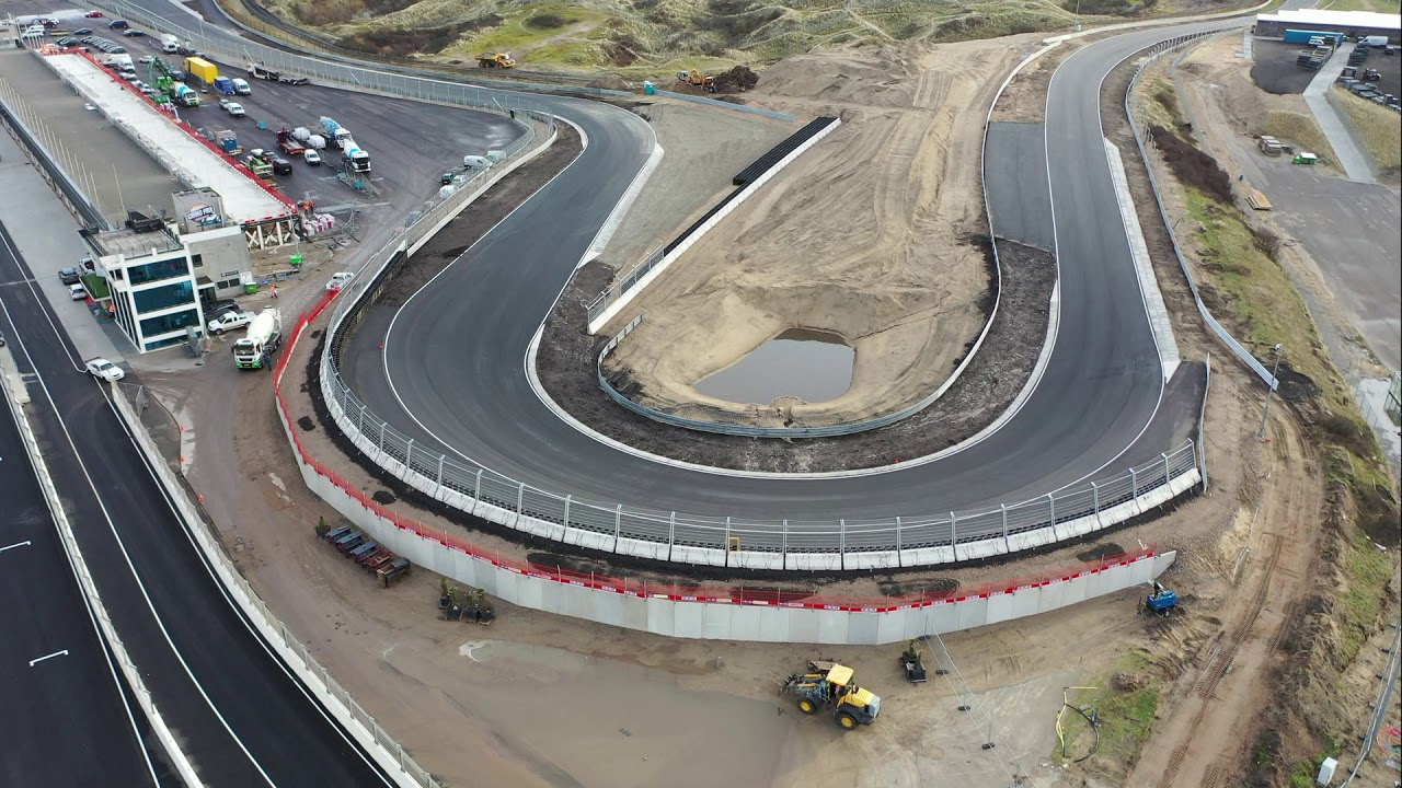 F1 Circuit Zandvoort Renovation Update 28 02 2020 Youtube