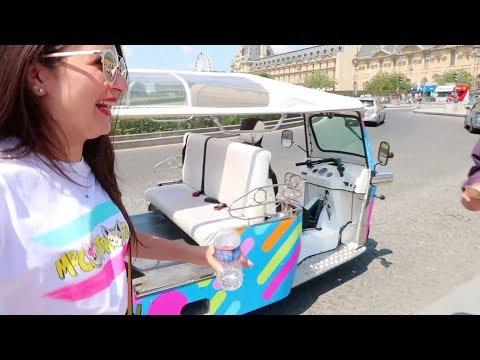 In giro per PARIGI con un Tuc Tuc!