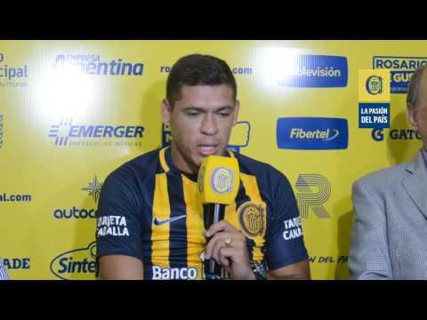 el paraguayo leguizamon dijo que vino a central a hacer muchos goles de cabeza y tiro libre