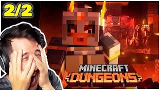 Markiplier Plays Minecraft Dungeons W/Friends (TWITCH VOD) 2/2