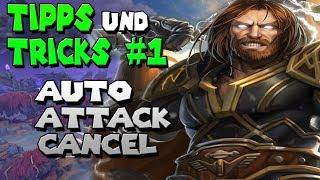 Auto Attack Cancel | Was ist das ? | Tipps und Tricks#1 | Smite | German/Deutsch