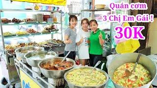 Phát hiện Ba chị em gái dễ thương phụ mẹ bán cơm 23 năm ở Sài Gòn