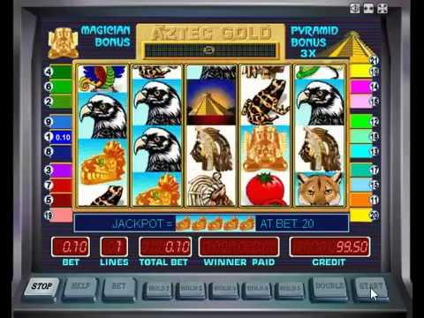Видео Игровой автомат ацтек голд золото ацтеков