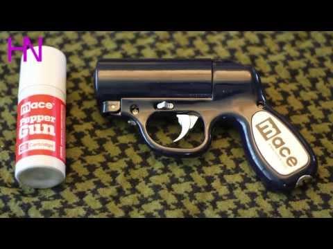 Mace Pepper Gun Demonstration and Review
