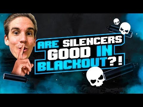 ARE SILENCERS GOOD IN BLACKOUT?!? 21 KILL CLUTCH GAME! (Call of Duty: Blackout)