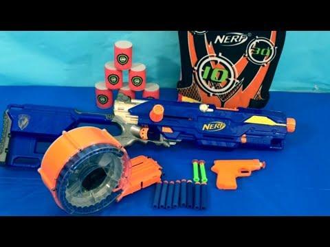 Box of Toys NERF Guns Box Full of Toys Toy Guns Toys for Kids