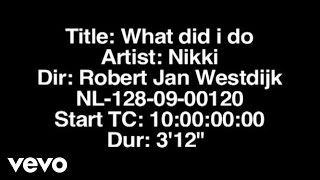 Nikki - What Did I Do