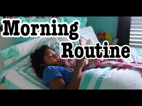 Summer Camp Morning Routine!!!!!