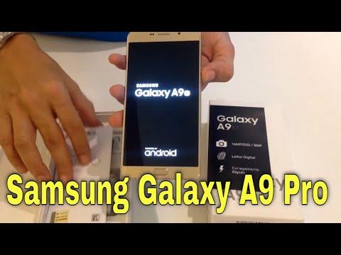 Abrindo  Galaxy A9 2016 / unboxing