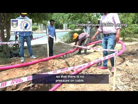 Underground Cable laying