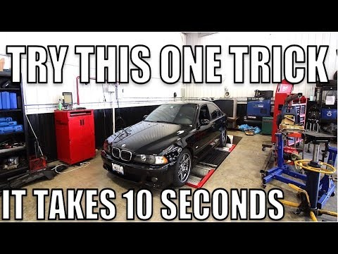 Talented BMW Tech Diagnoses, Repairs and Tunes A Mint E39 M5 For A 139 HORSEPOWER GAIN On The Dyno!