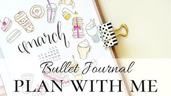 MARCH PLAN WITH ME | Bullet Journal Suomi 2019