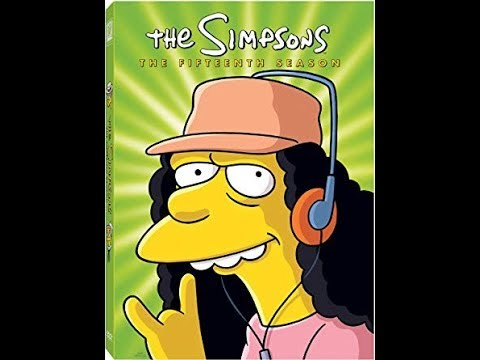 Opening To The Simpsons: The Fifteenth Season 2012 DVD (2003-2004)