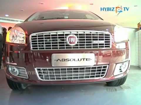Hybiz.tv - Fiat Group Automobiles India Pvt Ltd launched the Ltd Absolute Edition of Linea & Punto