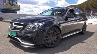 850HP BRABUS E63 6.0 V8 Biturbo Estate - REV SOUND!