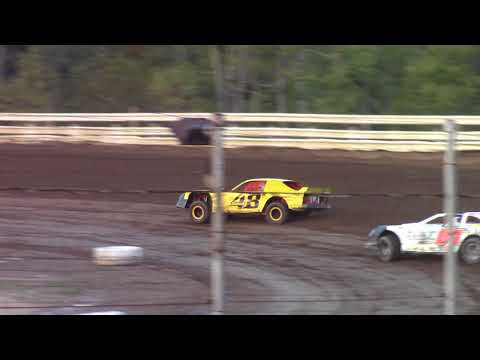 Hummingbird Speedway (9-23-17): Cypress Clock & Gift Shop Street Stock Heat Race #1