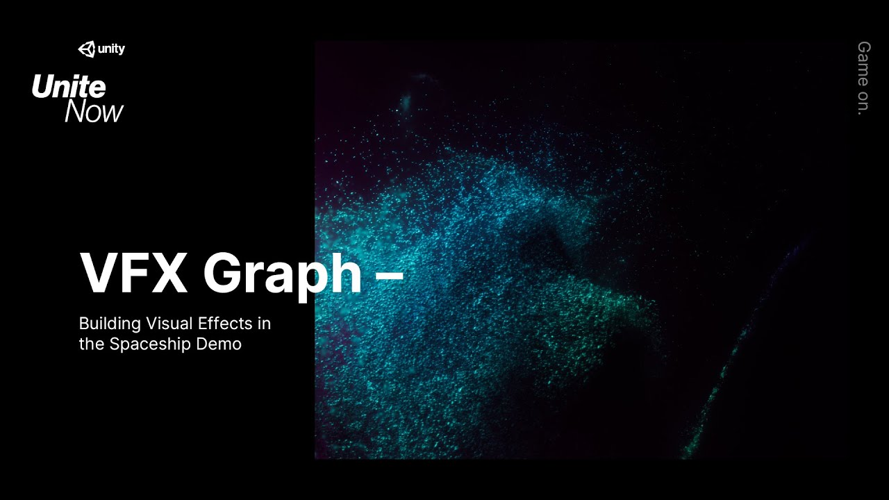 VFX Graph: Building Visual Effects in the  Spaceship Demo
