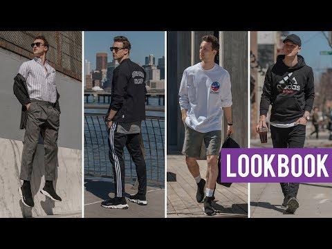 3f3dd4f7995a Balenciaga Sock Sneaker Lookbook | 4 Contemporary Outfits for Men | Marcel  Floruss - YouTube