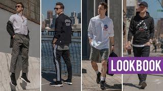 Balenciaga Sock Sneaker Lookbook | 4 Contemporary Outfits for Men | Marcel Floruss