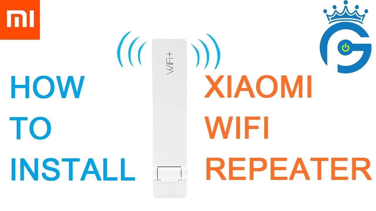 Xiaomi Wifi Repeater Amplifier Extender Setup Tutorial Youtube Version 2