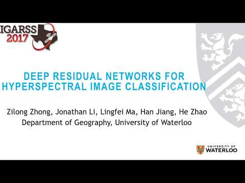 Deep Residual Networks for Hyperspectral Image Classification