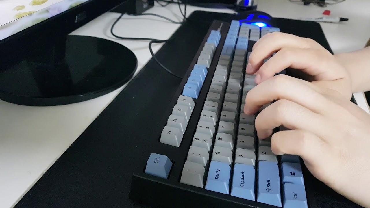 a79e4c796b9 Leopold FC900R PD Typing (Cherry MX Black) - YouTube