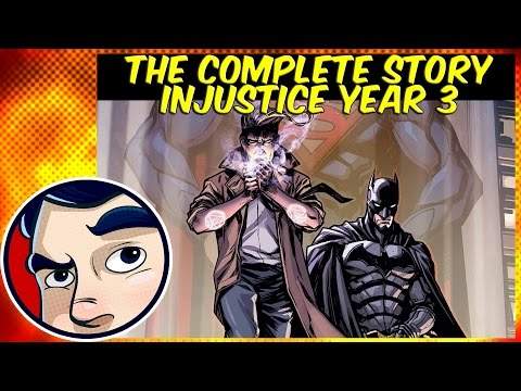Injustice Gods Among Us Year 3 Vol 1 (John Constantine) - Complete Story | Comicstorian