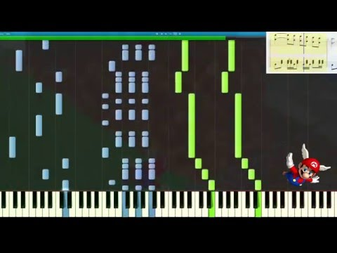 Super Mario 64 – Wing Cap Theme – PERFECT VERSION – Synthesia