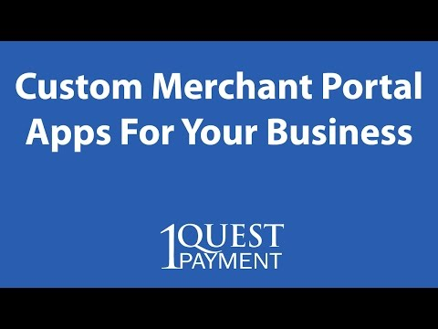 Custom Merchant Portal Apps For Your Business - Credit Card Processing Orlando FL